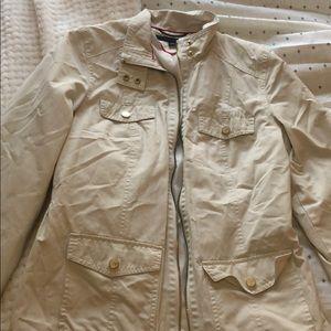 Tommy Hilfiger tan coat